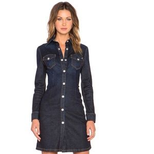 Alexa Chung for AG Adriano Goldschmied Denim Dress